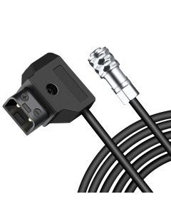 Koolertron 55 inch Length D-Tap to BMPCC 4K 6K Power Cable for Blackmagic Pocket Cinema Camera 4K BMPCC 4K and Gold Mount V Mount Battery