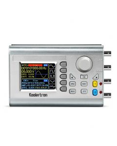 Koolertron DDS Signal Generator Counter, 2.4in Screen Display 15MHz High Precision Dual-channel Arbitray Waveform Generator Frequency Meter 266MSa/s